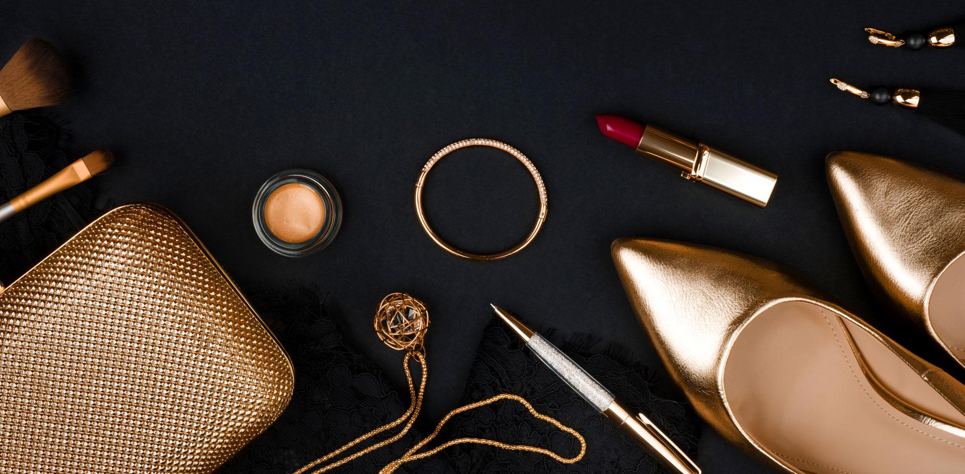 accessoires et produits de beauté